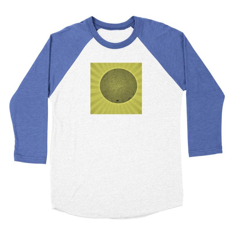 Sunshine Men's Baseball Triblend Longsleeve T-Shirt by Karmic Reaction Art
