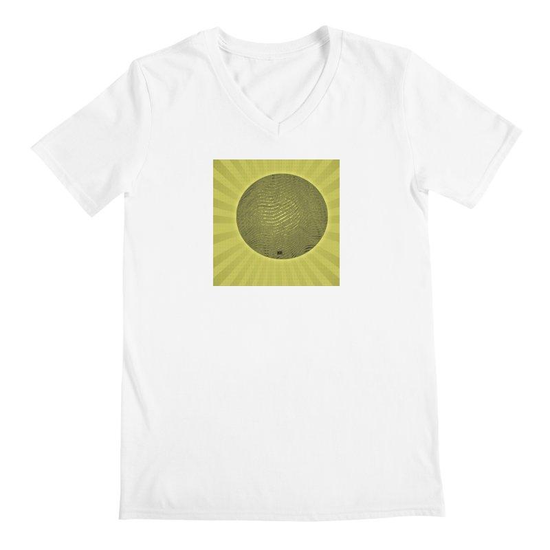 Sunshine Men's Regular V-Neck by Karmic Reaction Art