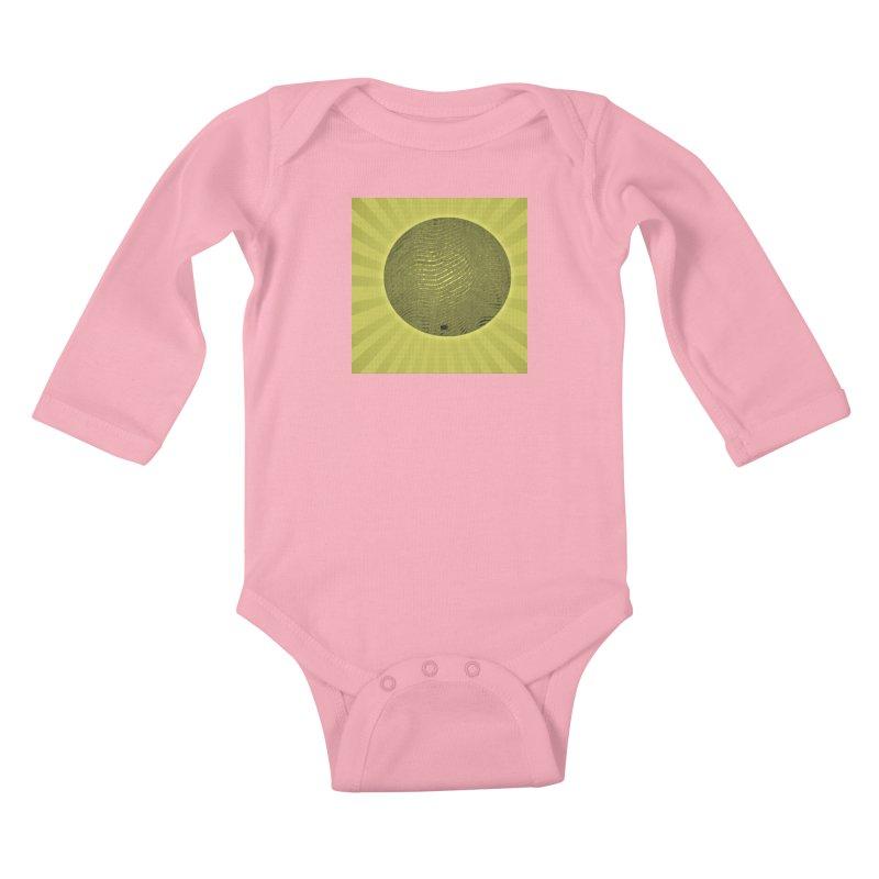 Sunshine Kids Baby Longsleeve Bodysuit by Karmic Reaction Art