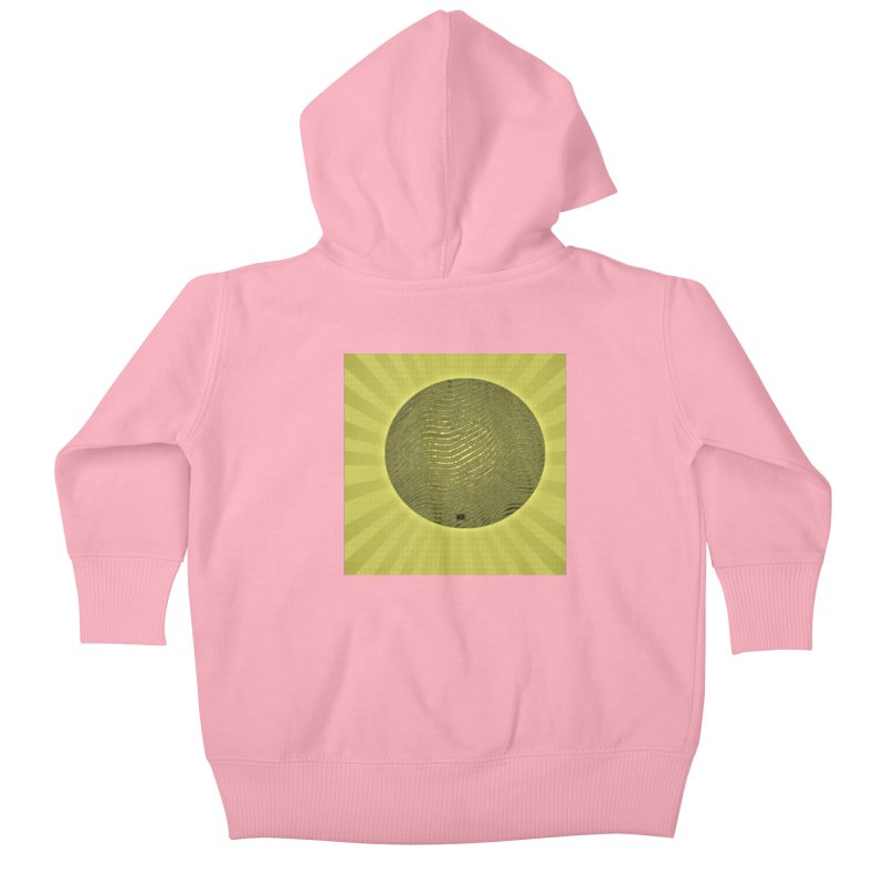 Sunshine Kids Baby Zip-Up Hoody by Karmic Reaction Art