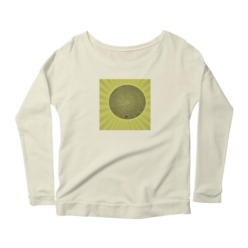 Sunshine Women's Scoop Neck Longsleeve T-Shirt by Karmic Reaction Art