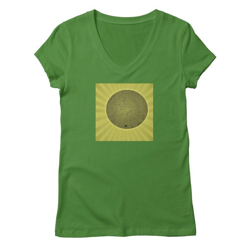 Sunshine Women's Regular V-Neck by Karmic Reaction Art