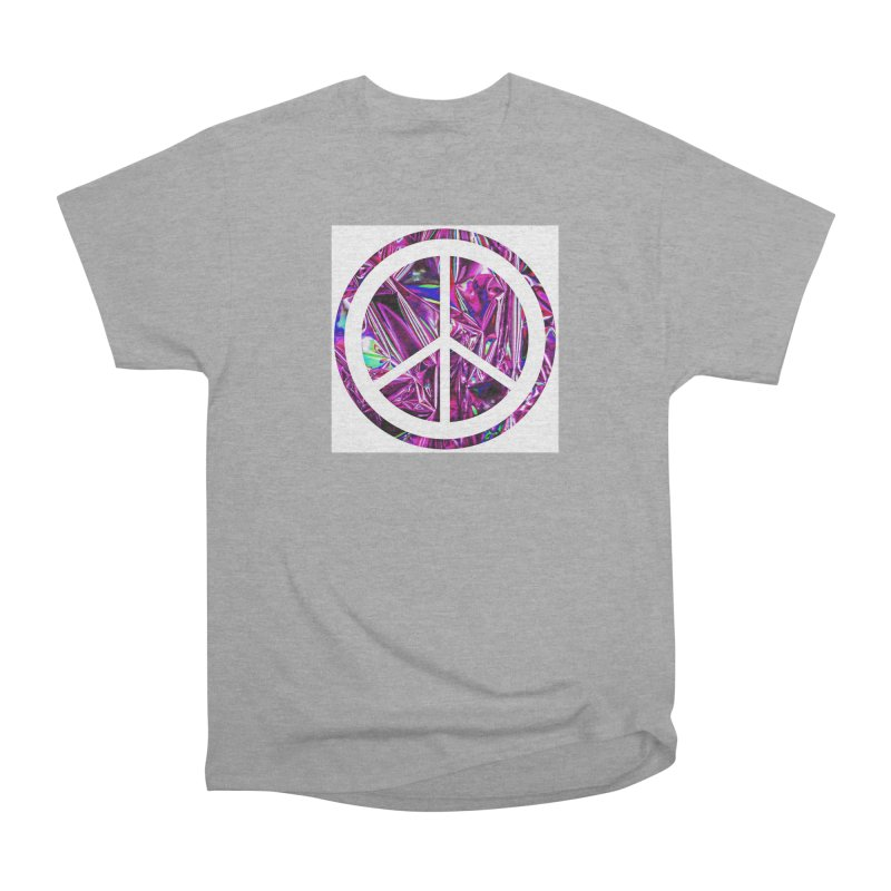 Peace 3 Men's Heavyweight T-Shirt by Karmic Reaction Art