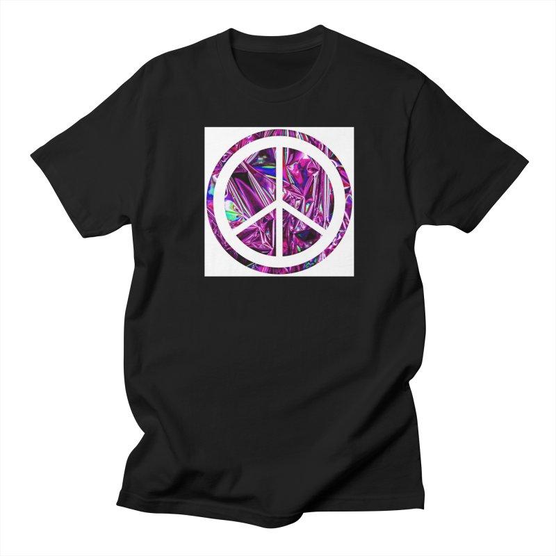 Peace 3 Women's Regular Unisex T-Shirt by Karmic Reaction Art