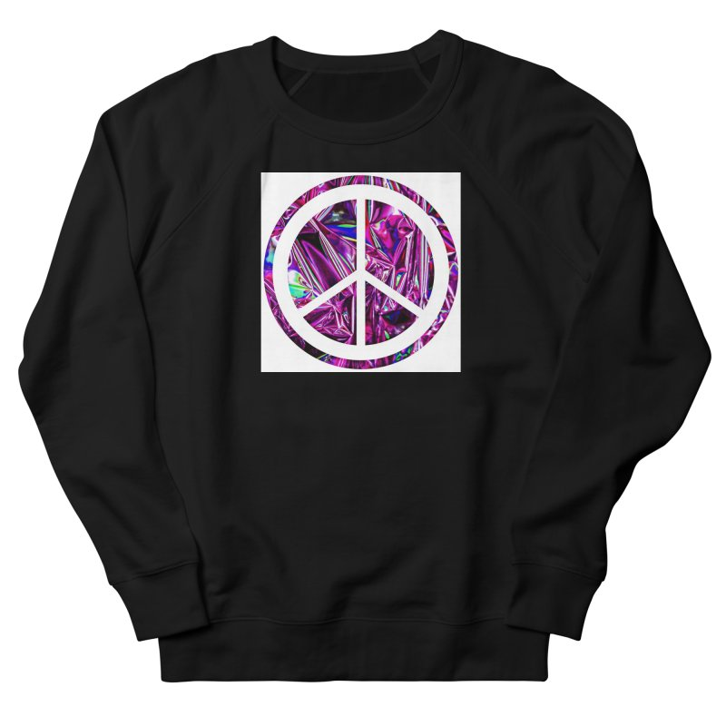 Peace 3 Women's French Terry Sweatshirt by Karmic Reaction Art