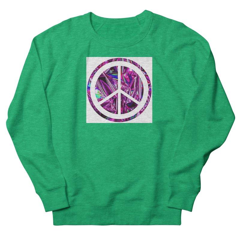 Peace 3 Men's French Terry Sweatshirt by Karmic Reaction Art
