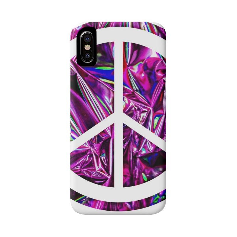 Peace 3 Accessories Phone Case by Karmic Reaction Art
