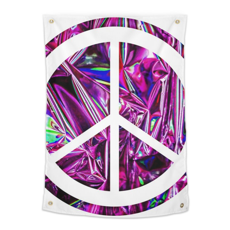 Peace 3 Home Tapestry by Karmic Reaction Art
