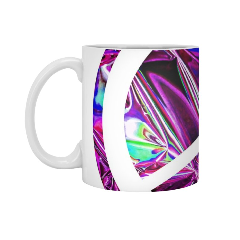 Peace 3 Accessories Standard Mug by Karmic Reaction Art