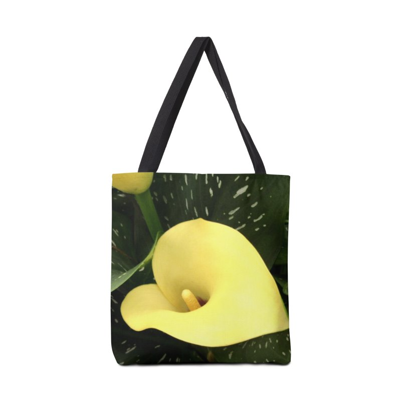 Yellow flower 3 Accessories Tote Bag Bag by Karmic Reaction Art