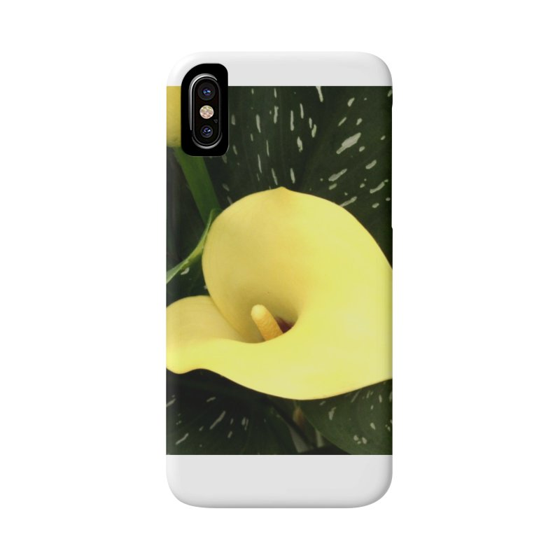 Yellow flower 3 Accessories Phone Case by Karmic Reaction Art