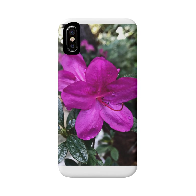 Pink Flower 3 Accessories Phone Case by Karmic Reaction Art