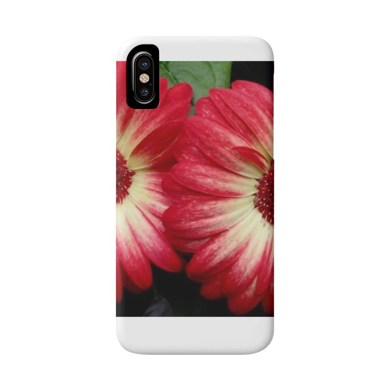 Red and Yellow Flowers Accessories Phone Case by Karmic Reaction Art