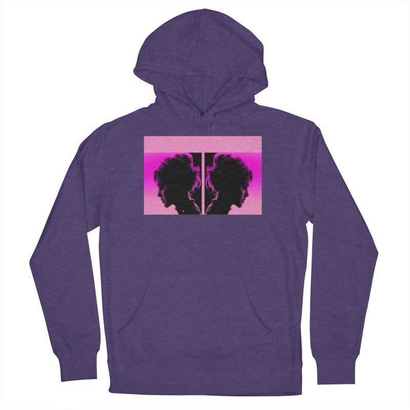 That Girl Women's French Terry Pullover Hoody by Karmic Reaction Art