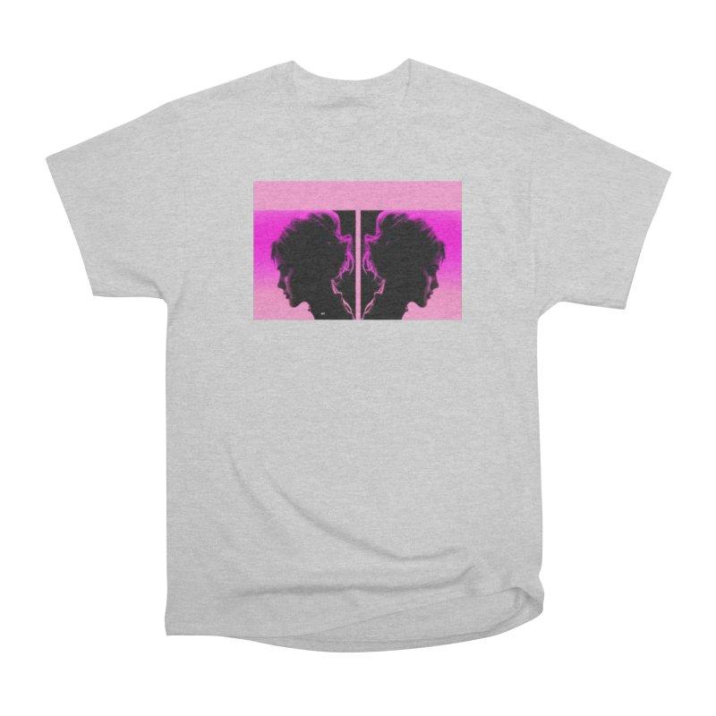 That Girl Women's Heavyweight Unisex T-Shirt by Karmic Reaction Art
