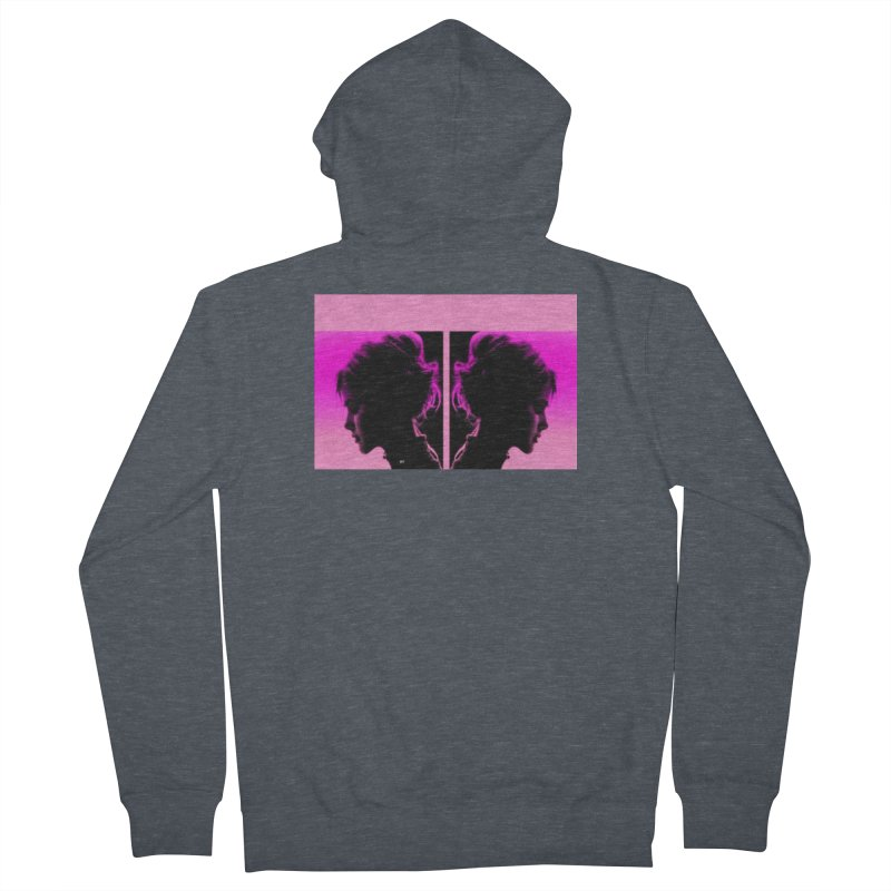 That Girl Women's French Terry Zip-Up Hoody by Karmic Reaction Art