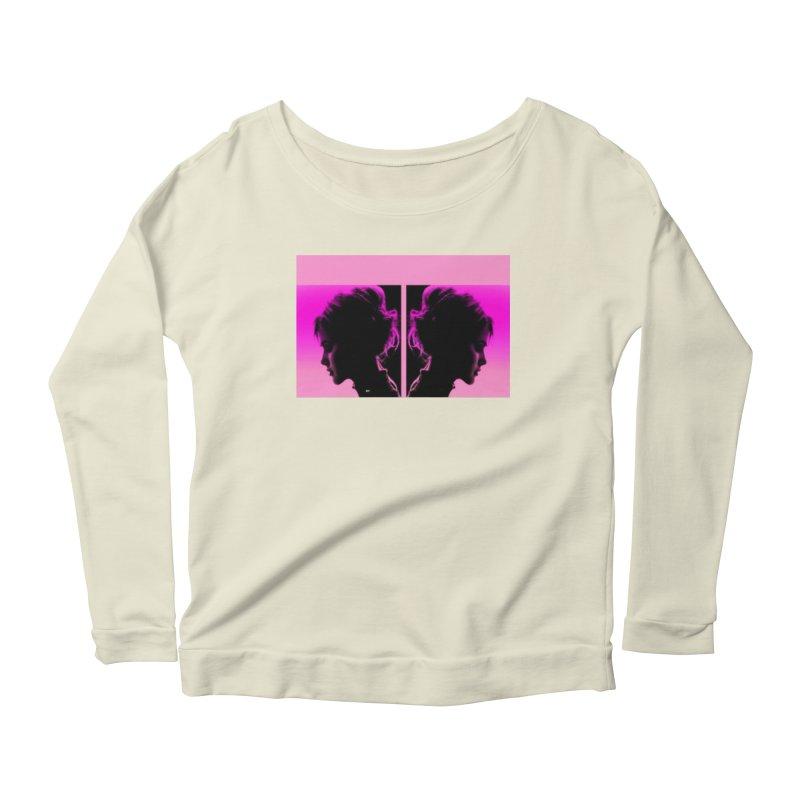 That Girl Women's Scoop Neck Longsleeve T-Shirt by Karmic Reaction Art