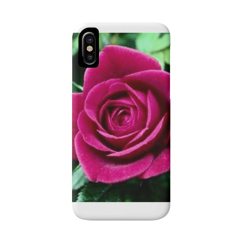 Rose 1 Accessories Phone Case by Karmic Reaction Art