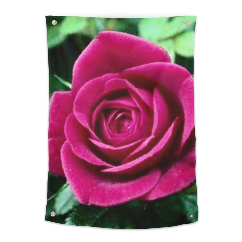 Rose 1 Home Tapestry by Karmic Reaction Art