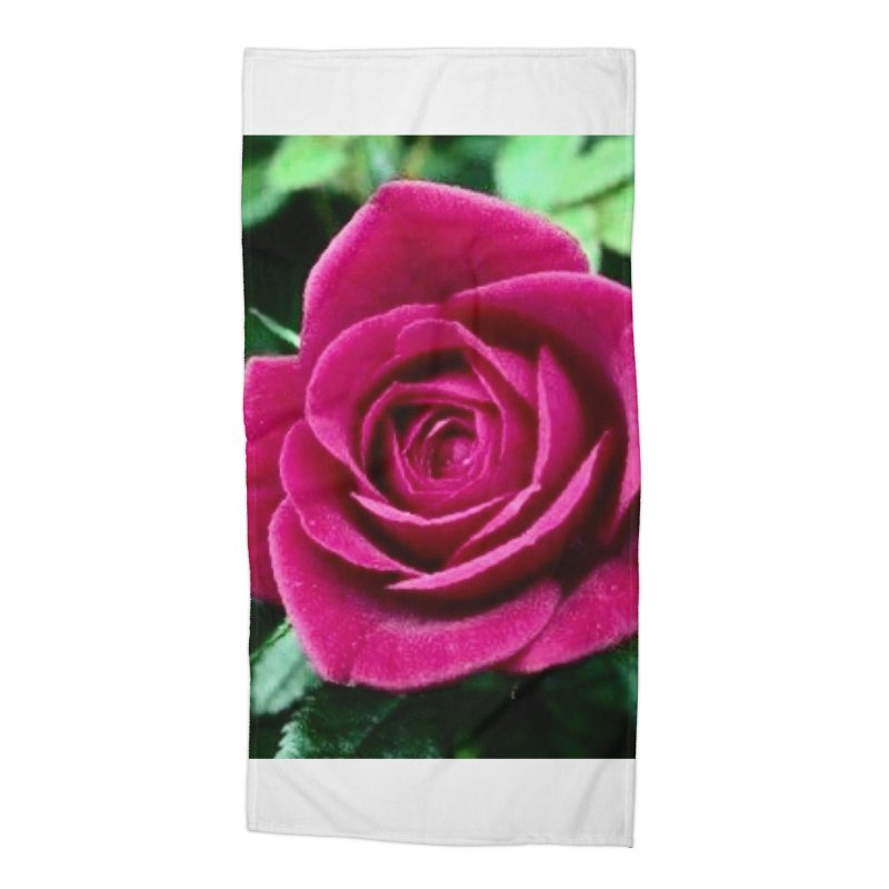 Rose 1 Accessories Beach Towel by Karmic Reaction Art