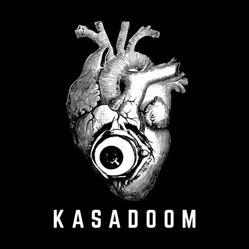 Eye Heart Kasadoom Men's T-Shirt by Kasadoom's Artist Shop