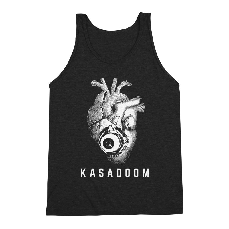 Eye Heart Kasadoom Men's Triblend Tank by Kasadoom's Artist Shop