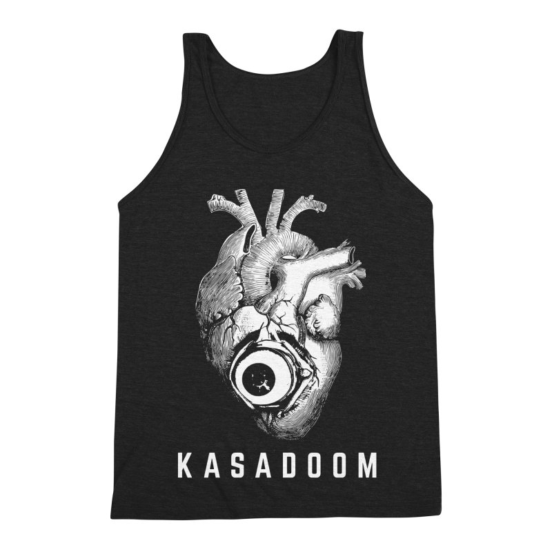 Eye Heart Kasadoom Men's Triblend Tank by Kasadoom's Artist Shop