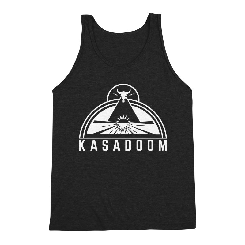 Pyramid Men's Triblend Tank by Kasadoom's Artist Shop
