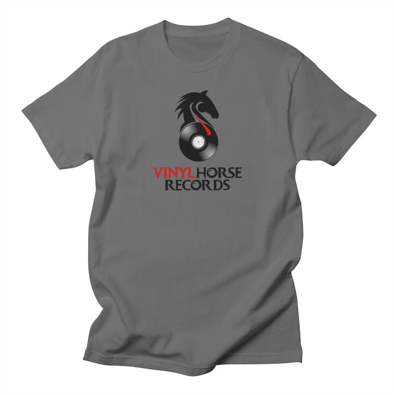 Vinyl Horse Records from the award-winning novel, Whispers On A String (Design by David Strover) Men's T-Shirt by KathleenStone's Artist Shop