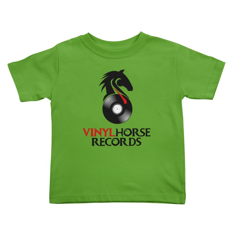 Vinyl Horse Records from the award-winning novel, Whispers On A String (Design by David Strover) Kids Toddler T-Shirt by KathleenStone's Artist Shop