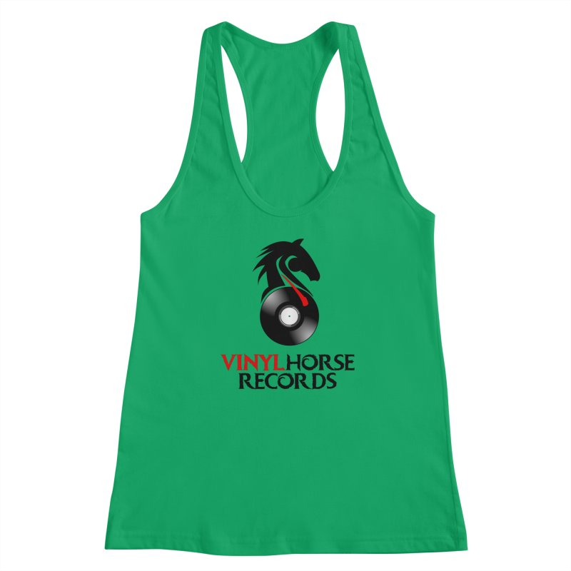 Vinyl Horse Records from the award-winning novel, Whispers On A String (Design by David Strover) Women's Tank by KathleenStone's Artist Shop