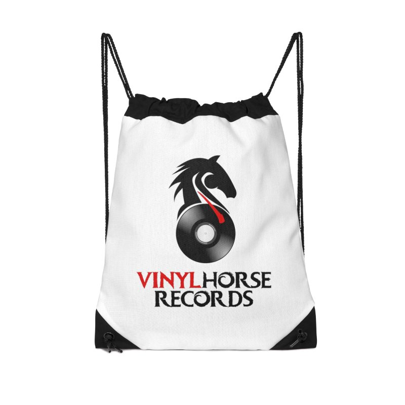 Vinyl Horse Records from the award-winning novel, Whispers On A String (Design by David Strover) Accessories Bag by KathleenStone's Artist Shop