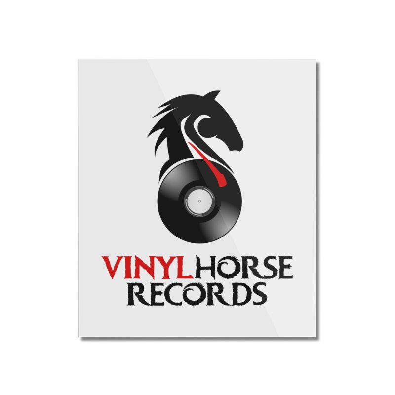 Vinyl Horse Records from the award-winning novel, Whispers On A String (Design by David Strover) Home Mounted Acrylic Print by KathleenStone's Artist Shop