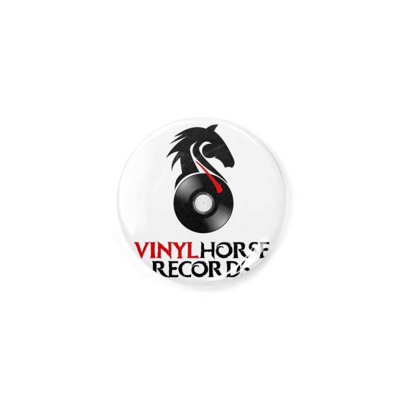 Vinyl Horse Records from the award-winning novel, Whispers On A String (Design by David Strover) Accessories Button by KathleenStone's Artist Shop