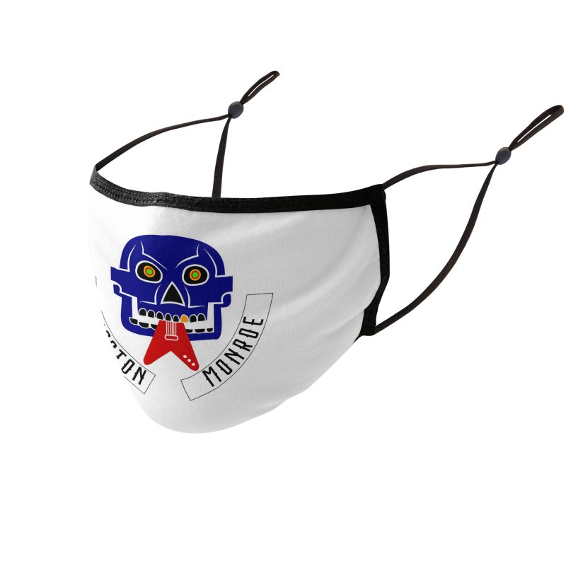 Livingston Monroe, the rock band in the novel, Whispers On A String (design by David Strover) Accessories Face Mask by KathleenStone's Artist Shop