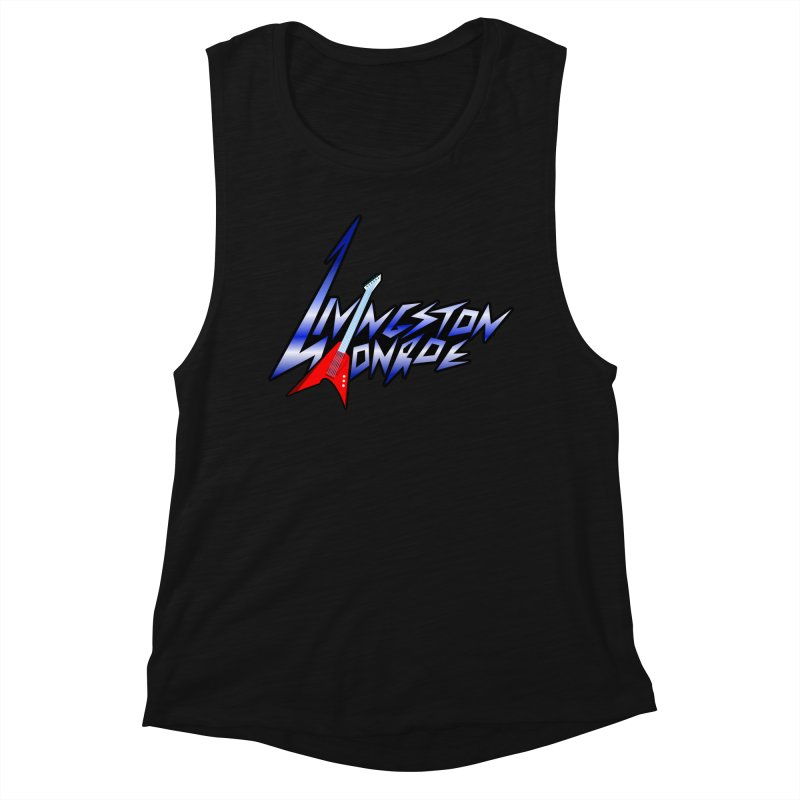 Livingston Monroe, the rock band in the novel, Whispers On A String (design by David Strover) Women's Tank by KathleenStone's Artist Shop