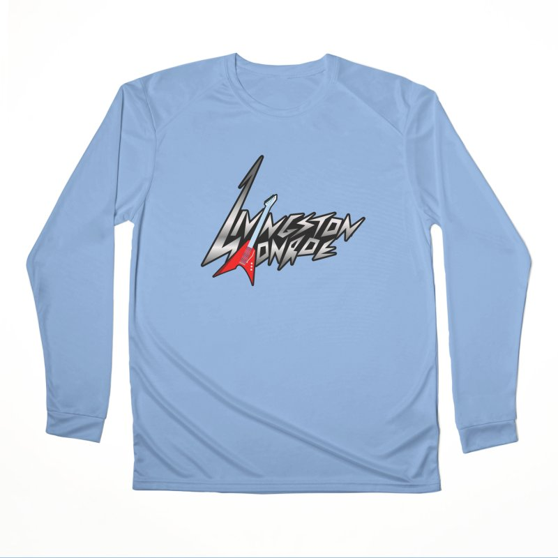 Livingston Monroe, the rock band in the novel, Whispers On A String (design by David Strover) Men's Longsleeve T-Shirt by KathleenStone's Artist Shop