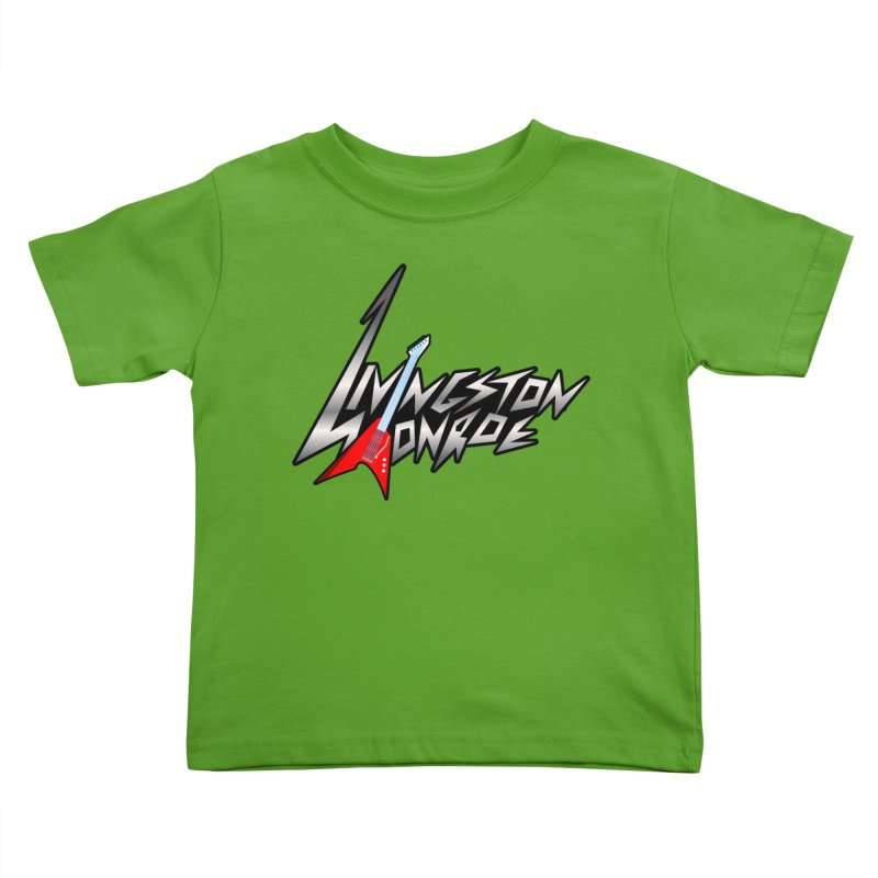 Livingston Monroe, the rock band in the novel, Whispers On A String (design by David Strover) Kids Toddler T-Shirt by KathleenStone's Artist Shop