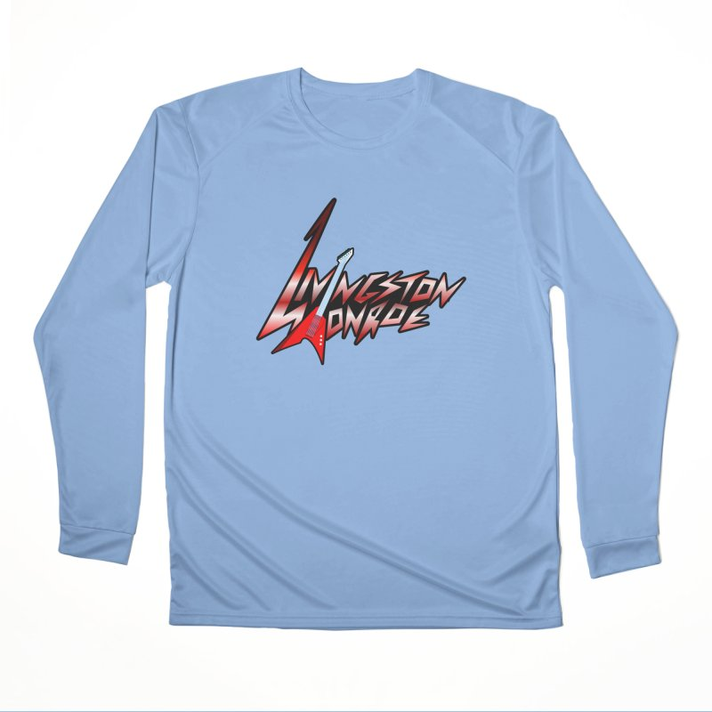 Livingston Monroe, the rock band in the novel, Whispers On A String (design by David Strover) Women's Longsleeve T-Shirt by KathleenStone's Artist Shop
