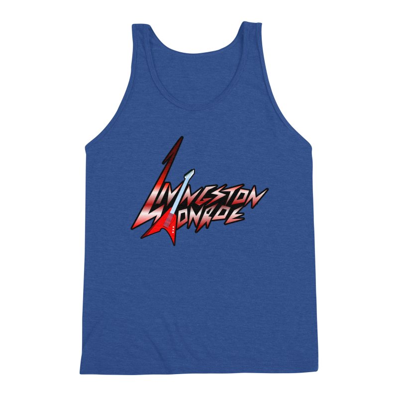 Livingston Monroe, the rock band in the novel, Whispers On A String (design by David Strover) Men's Tank by KathleenStone's Artist Shop