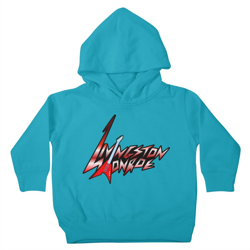 Livingston Monroe, the rock band in the novel, Whispers On A String (design by David Strover) Kids Toddler Pullover Hoody by KathleenStone's Artist Shop
