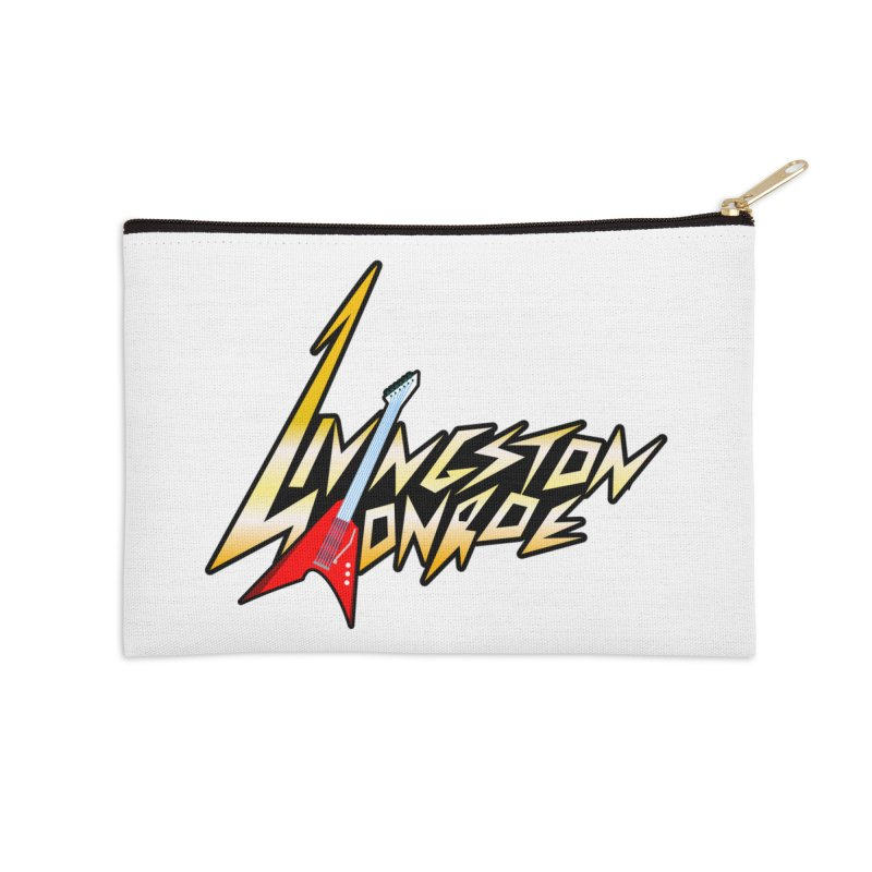 Livingston Monroe, the rock band in the novel, Whispers On A String (design by David Strover) Accessories Zip Pouch by KathleenStone's Artist Shop