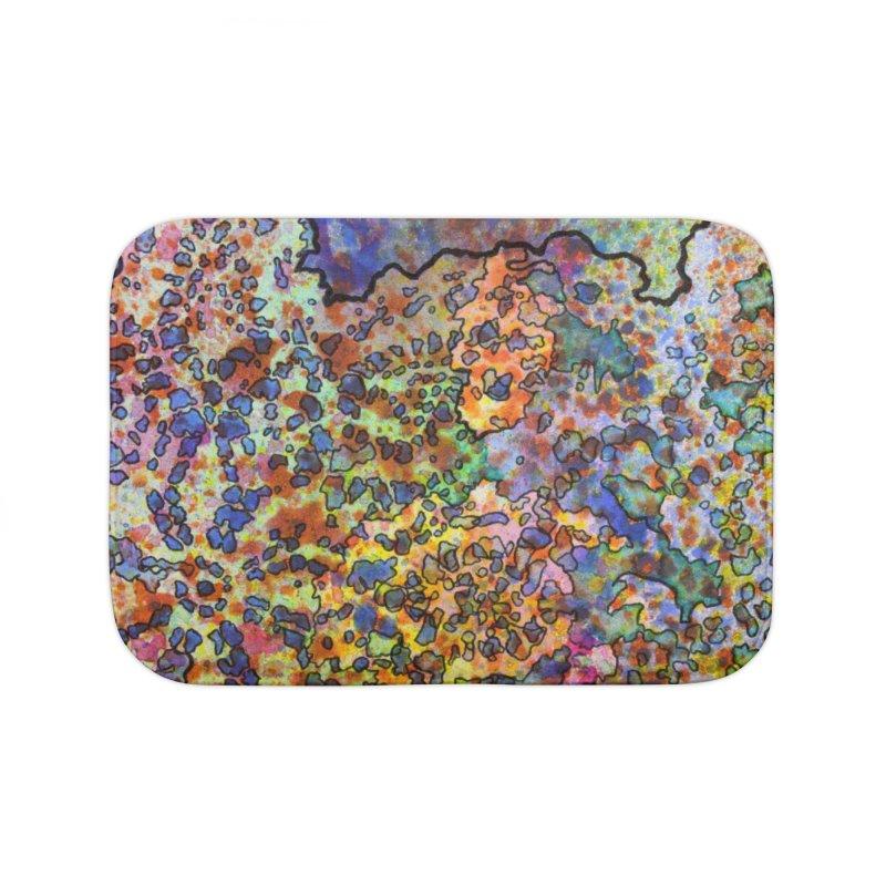 5, Inset B Home Bath Mat by Katie Schutte Art