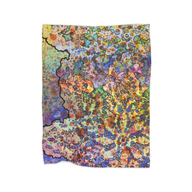 5, Inset B Home Blanket by Katie Schutte Art