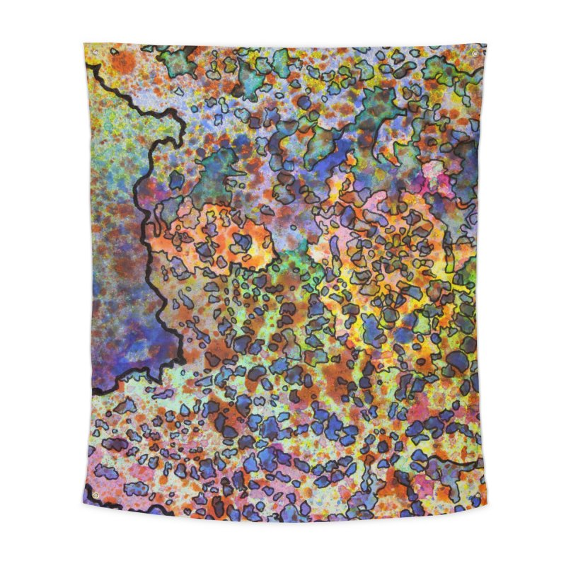5, Inset B Home Tapestry by Katie Schutte Art