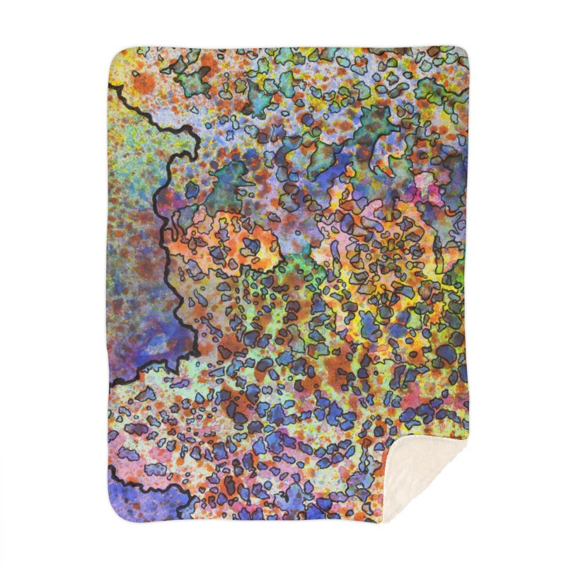 5, Inset B Home Blanket by Katie Schutte Art