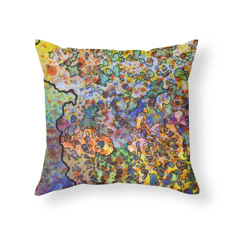 5, Inset B Home Throw Pillow by Katie Schutte Art