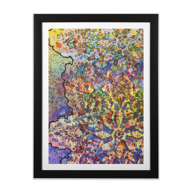 5, Inset B Home Framed Fine Art Print by Katie Schutte Art