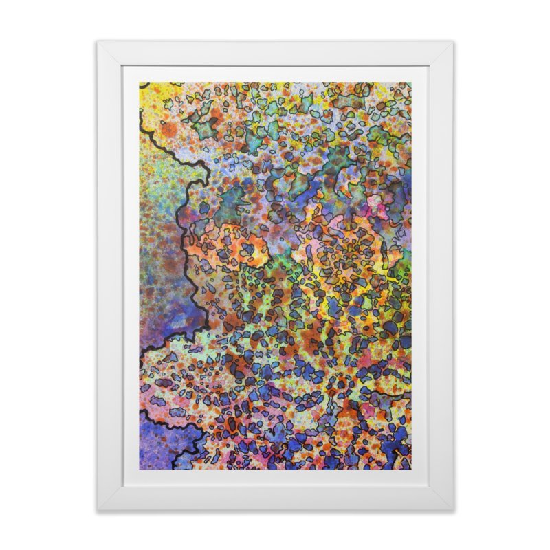 5, Inset B Home Framed Fine Art Print by Katie Schutte Art