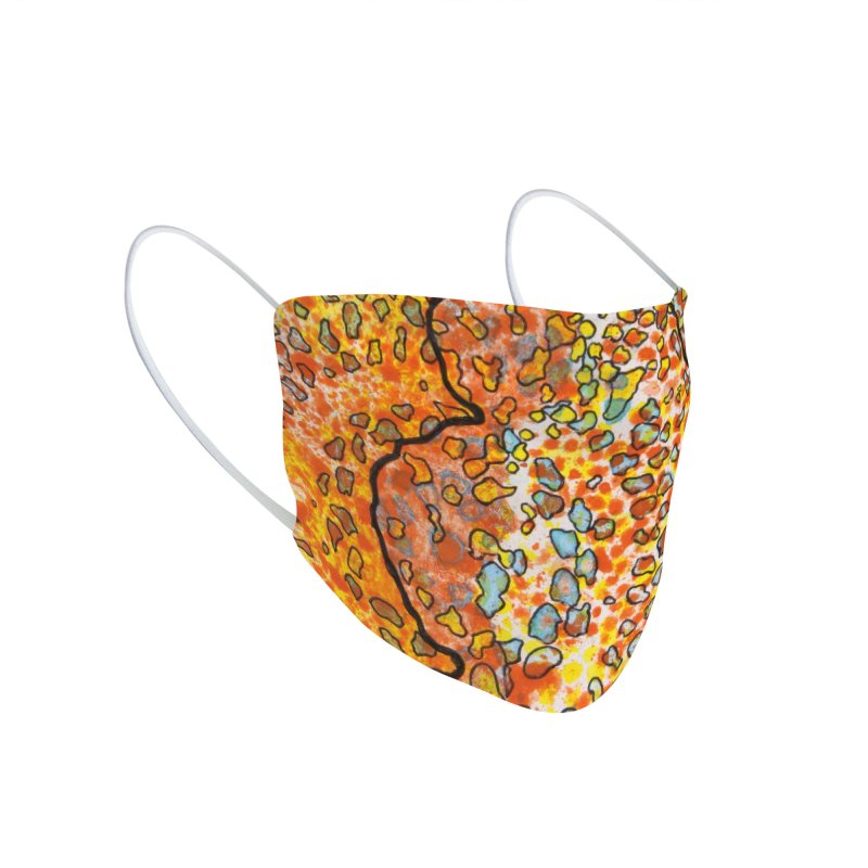 2, Inset B Accessories Face Mask by Katie Schutte Art